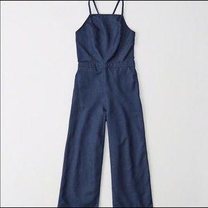 Abercrombie and Fitch cotton denim jumpsuit